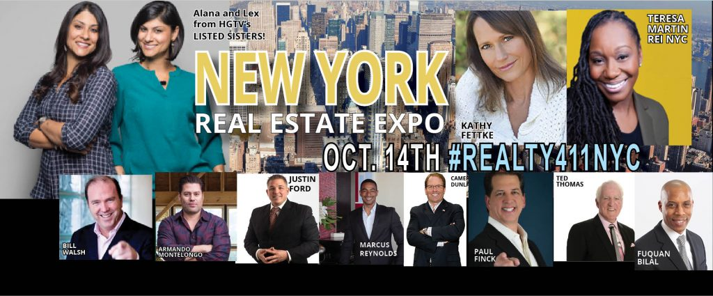 HGTV Stars to Speak at Realty411's Expo in NYC – Magazine Reaches Millions Via their Media Campaigns this Month