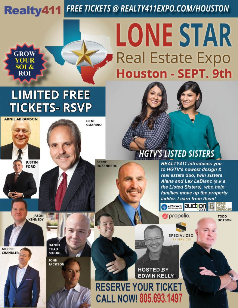 Edwin Kelly from Specialized IRA Services to Host the Lone Star Real Estate Investor's Expo in Houston