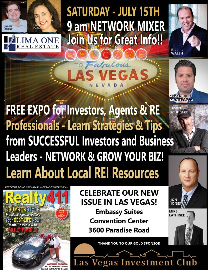 Join Us in Las Vegas, Nevada! Get Lucky in Real Estate, Join Us Here.