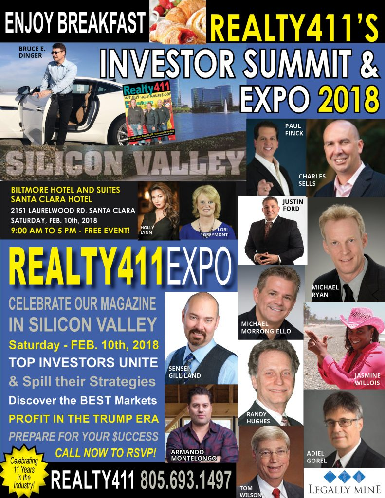 Skyrocket Your Success this Year with SILICON VALLEY'S Investor Expo & Summit