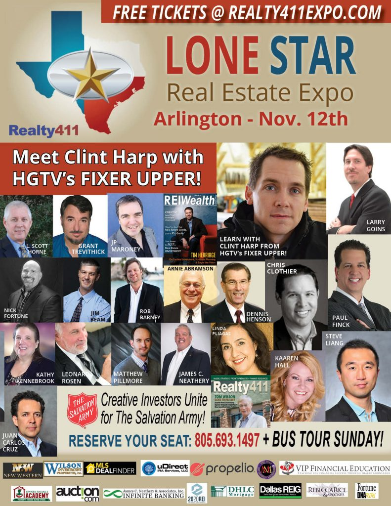 Lone Star Real Estate Investor's Expo – RSVP RIGHT HERE!