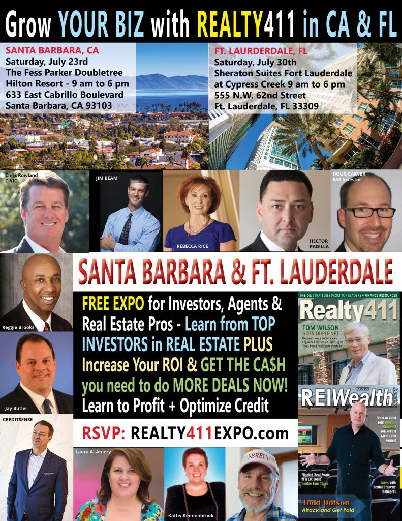 Life's a Beach – CREATIVE REAL ESTATE INVESTOR'S EXPO ON TWO COASTS!