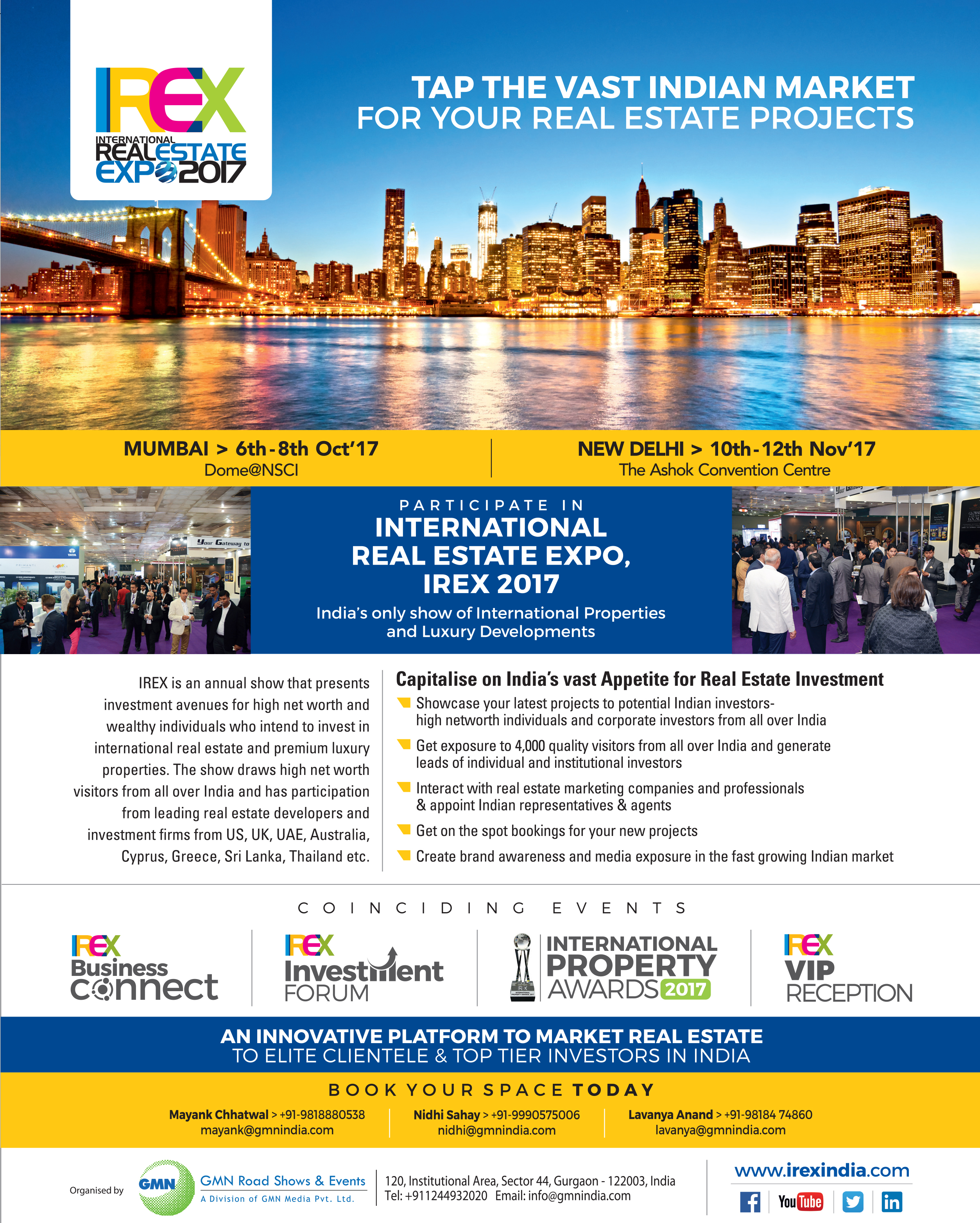 International property magazine - Realty411 Proud Sponsor Of The International Real Estate Expo 2017 Learn More