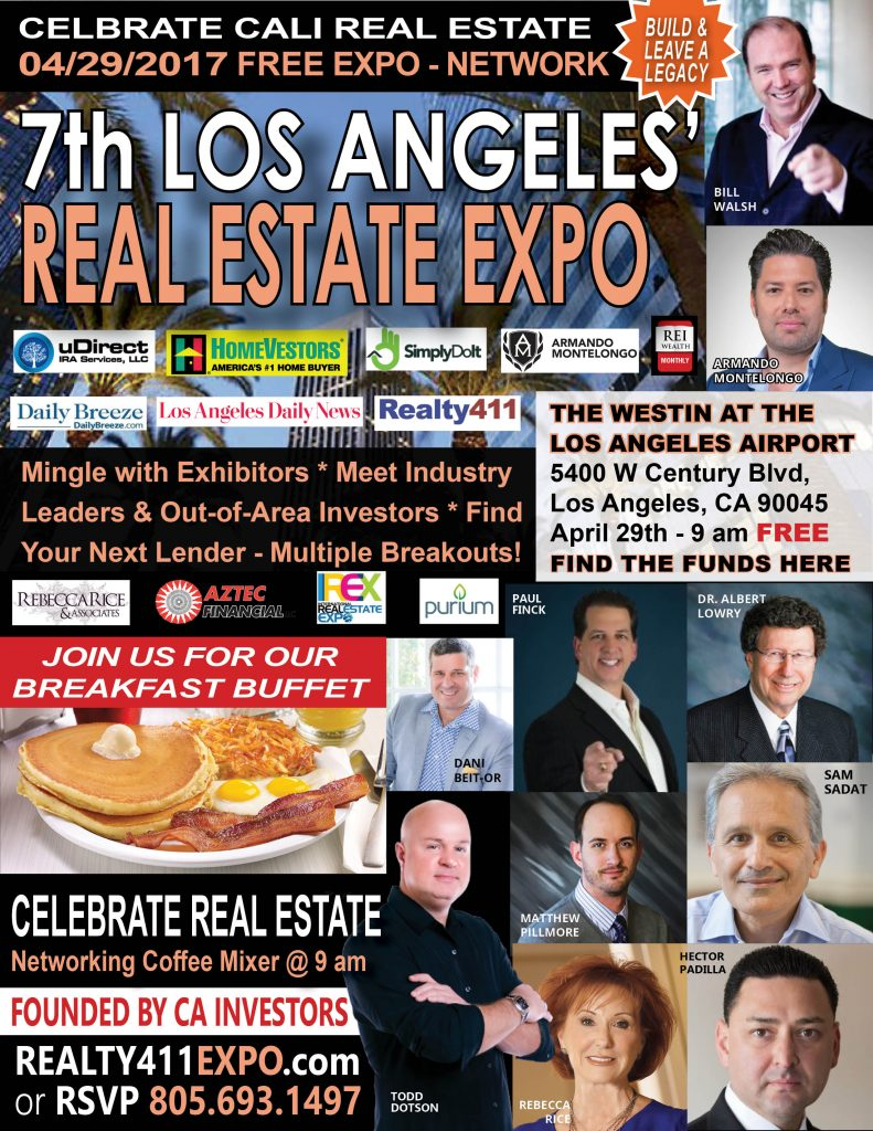 ** THE BIGGEST NAMES IN REAL ESTATE ARE IN LOS ANGELS THIS MONTH! ** Did you RSVP yet?