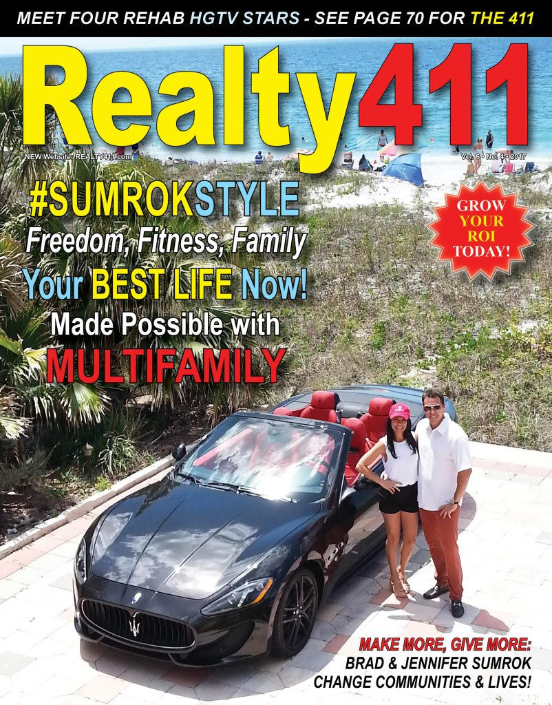 Read Our New Issue Featuring Brad and Jennifer Sumrok