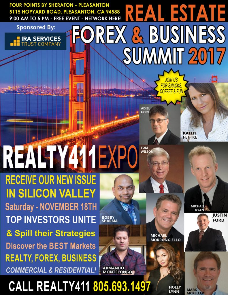 Join Us in Pleasanton on Nov. 18th for Our Creative Investor's Expo – Complimentary Breakfast Mixer for Early-Bird Guests!