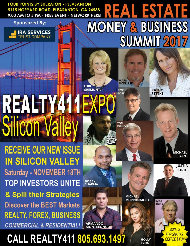 Join Us in Northern California – Learn From Top Leaders, Enjoy Refreshments and Wealth Tips on Us!