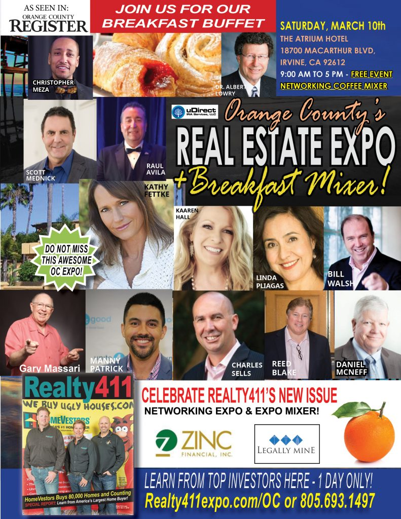 Enjoy Coffee & Breakfast with TOP Leaders LIVE in Orange County!