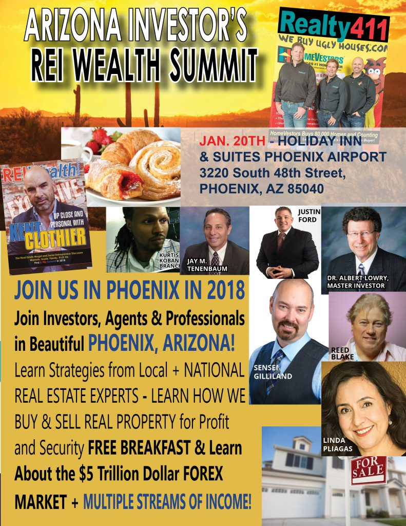 This January, Join Us In Arizona to Start the Year Off Right – Network with National Leaders