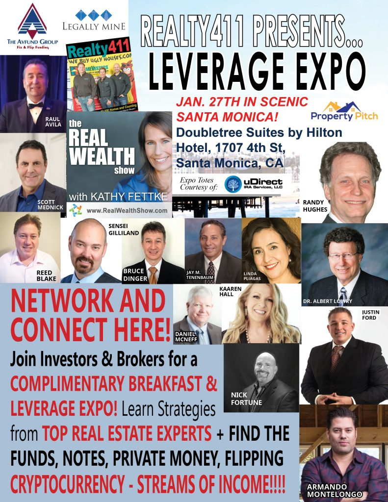 THE 411 ON OUR LEVERAGE EXPO & PROPERTY PITCH PILOT – Read This.
