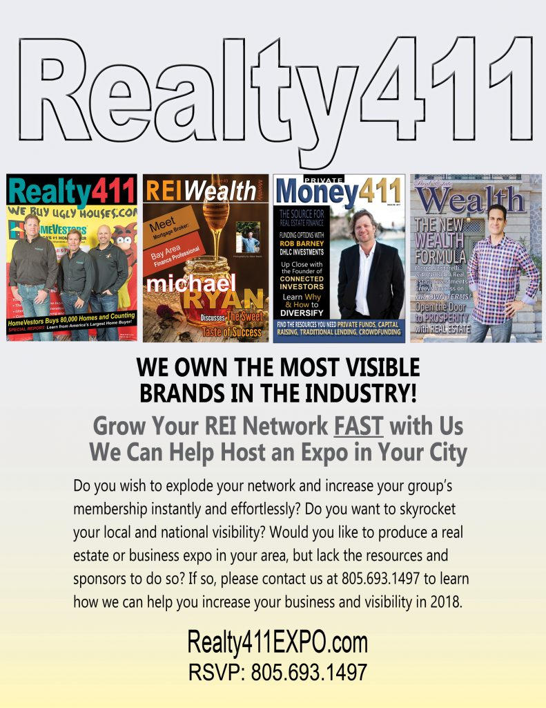 Learn About Our Next Events in Atlanta and Irvine – From Coast to Coast – Realty411 Has You Covered.