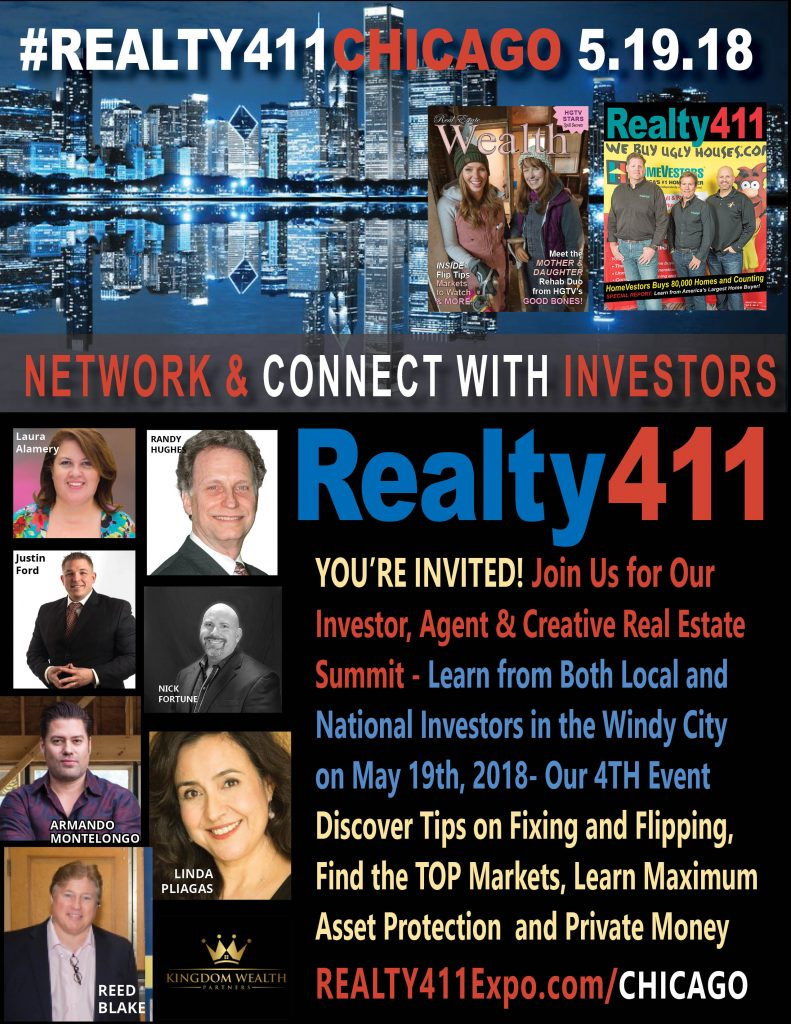 Realty411's CASHFLOW Conference in Chicago – JOIN US & GROW YOUR INFLUENCE