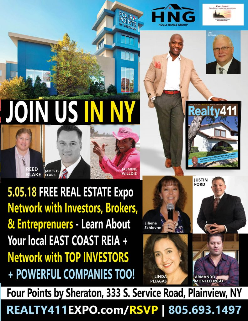 Realty411 Hosts Long Island Expo to Honor East Coast REIA's Growth & Influence