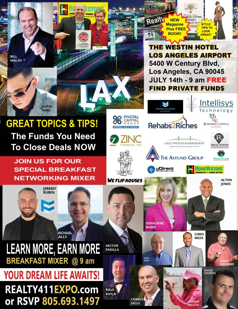 Join Us in Los Angeles on July 14th for Our ROCKSTAR Expo – We've Closed Millions in Deals, Join Us & Learn