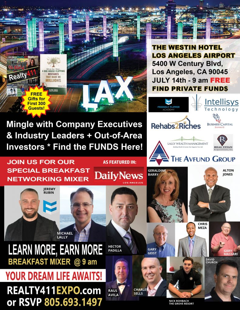 Realty411's ROCKSTAR Expo in Los Angeles – CREATIVE REAL ESTATE AT ITS BEST!